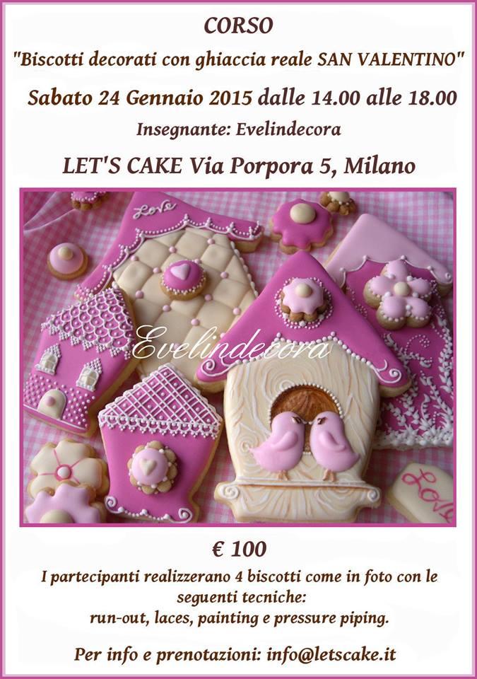 Negozio Cake Design Milano Via Porpora : locandina 24 gennaio - Let s Cake Milano