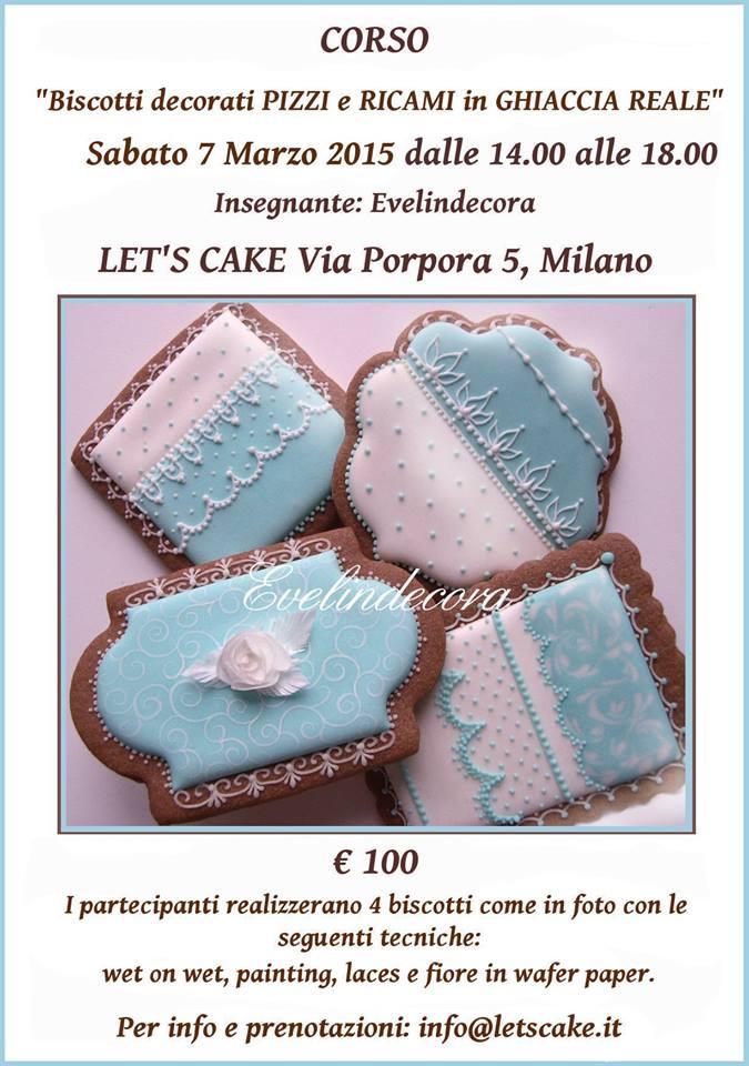 Negozio Cake Design Milano Via Porpora : locandina 7 marzo - Let s Cake Milano