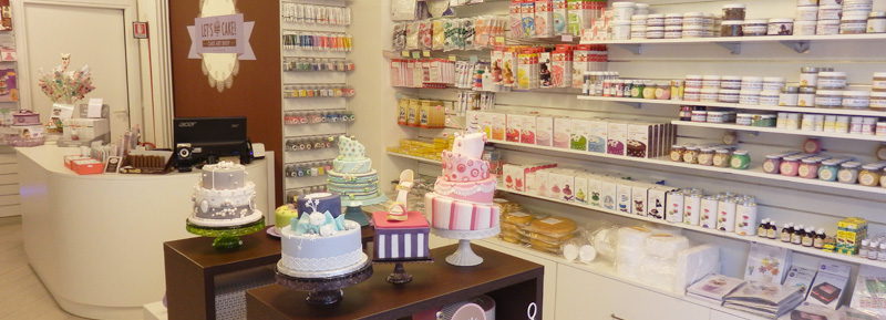 Negozi Cake Design Venezia : Let s Cake - Cake Art Shop - Milano